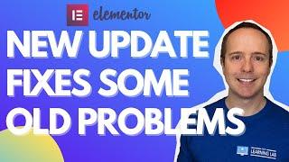 Elementor Pro 3.2 Update