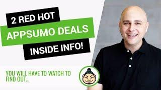 2 Red Hot AppSumo Deals - One Perfect For Lead Generation & Email Marketing