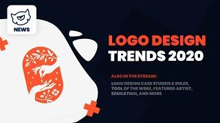 Logo Design Trends 2020 // Brand Logo Redesigns 2020 #Livestream #TemplateMonster