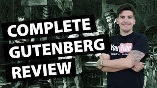 Gutenberg Review - Lets Take A Closer Look at the Gutenberg Editor For Wordpress