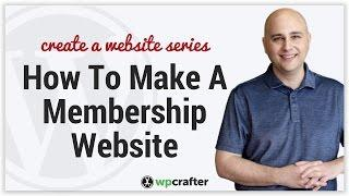 How To Create A Membership Website Using WordPress & LifterLMS