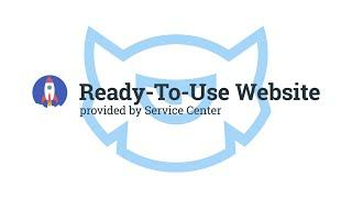TM Service Center: Ready To Use Website