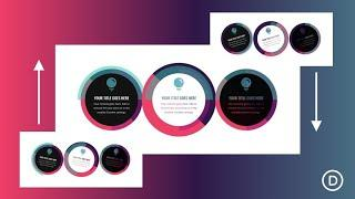 Creative ways to Combine Rotation Scroll Effects with Circular Elements in Divi