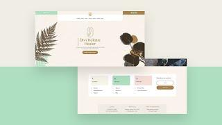 Download a FREE Header and Footer Template for Divi's Holistic Healer Layout Pack