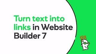 Add Links to a Website in Website Builder 7   GoDaddy