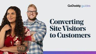 How to Convert Website Visitors to Customers | GoDaddy