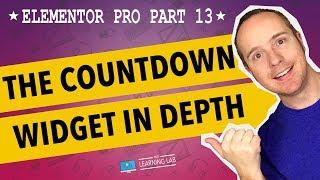Elementor Pro Part 13 - Elementor Countdown Timer Widget
