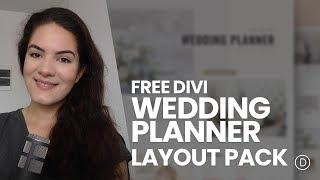 Get a FREE Wedding Planner Layout Pack for Divi
