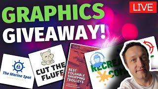 COMPLIMENTARY CANVA - FREE LOGOS - FREE GRAPHICS - Thursday LIVE!