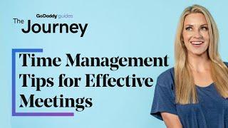 Time Management Tips for Effective Meetings