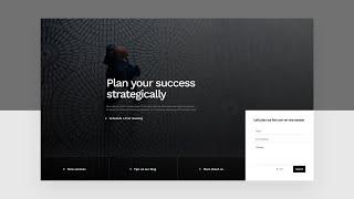 How to Add an Absolute Positioned Bottom Bar to Your Hero Section with Divi