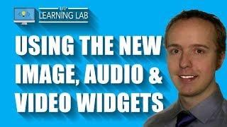 Wordpress Widgets Update - Discover The New (Or Updated) Widgets: Video, Audio, Image And Text