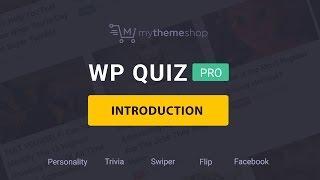 No #1 Quiz Plugin for WordPress - WP Quiz Pro by MyThemeShop