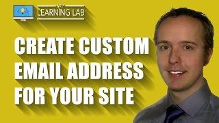 Create A Custom Email Address For Your Website Via cPanel   WP Learning Lab
