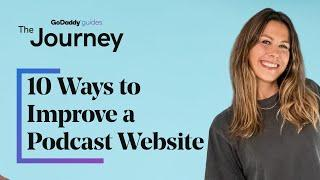 10 Ways to Create a Podcast Website for You or Your Clients