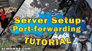 How To Make A FREE Online Video Game Server   Port-Forwarding & Server Hosting