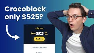 Crocoblock lifetime is only $525 (Limited time)
