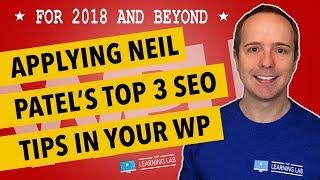 How To Use Neil Patel SEO For Beginners - 3 Powerful Tips SEO Tips To Rank #1 In Google In 2018