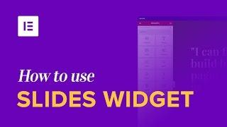 How to Use the Slides Widget to Create Sliders on WordPress Sites [Pro]