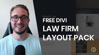 Get a Free Law Firm Layout Pack for Divi