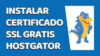 Cómo Instalar un Certificado SSL GRATIS y activar HTTPS Para WordPress en HostGator 2021 - #2
