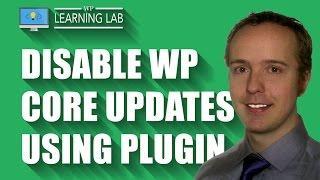 Disable WordPress Core, Theme & Plugin Updates Using A Plugin   WP Learning Lab