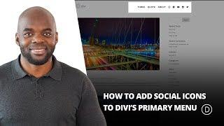 How to Add Social Icons to Divi's Primary Menu