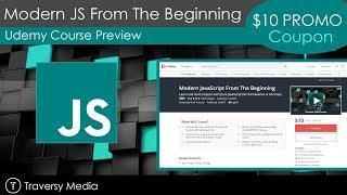 Udemy Course Alert - Modern JavaScript From The Beginning