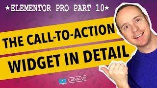 Elementor Pro Part 10 - Elementor Call To Action Widget