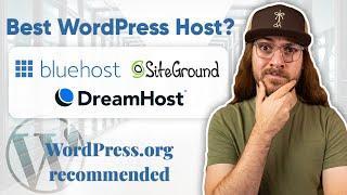 Best WordPress Hosting? | Bluehost vs. SiteGround vs. DreamHost COMPARED