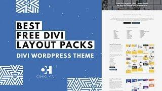 Free Divi Layouts - How to Install Layout Pack Tutorial for Divi 3.1 By Elegant Themes [2019]
