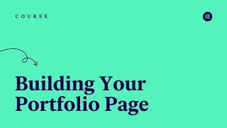 10 - Building Your Portfolio Page