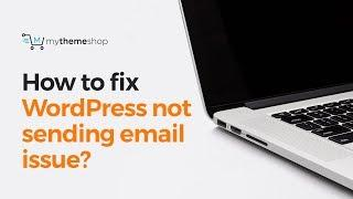 How to fix WordPress not sending emails issue?