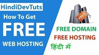 How To Get Free Web Hosting In Hindi | Hindidevtuts Tech Show Ep#12