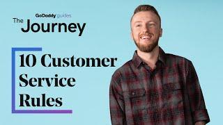 10 Customer Service Rules for Web Professionals