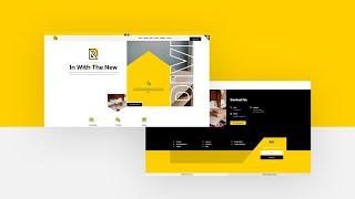 FREE Header and Footer Template for Divi's Renovation Layout Pack