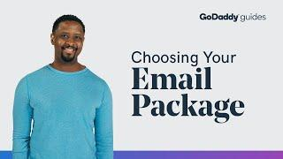 Choosing Your Email Package