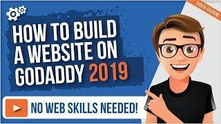 GoDaddy Website Builder 2019 [How To Build A Website On Godaddy]