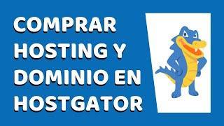 Cómo Comprar un Hosting y Dominio en HostGator 2021 - CURSO DE HOSTGATOR #1