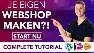 Hoe Maak Je Een Webshop 2020 (Dutch Tutorial)