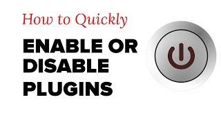 How to Quickly Activate or Deactivate WordPress Plugins from Admin Bar