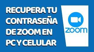 Cómo Recuperar Contraseña de Zoom 2020 (Desde PC y Celular)
