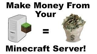 How To Make Money From Your Minecraft Server (After EULA Update)