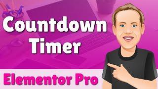 Elementor Pro Countdown Timer Widget