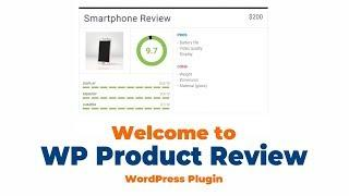 Welcome To Wp Product Review, The WordPress Plugin For Product Reviews