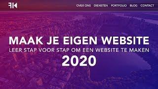 Hoe Maak Je Een Wordpress Website 2020 *DUTCH TUTORIAL*
