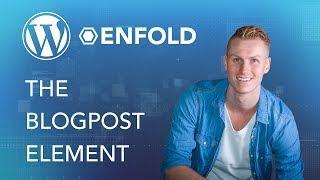 Wordpress Enfold Theme | Blog Posts