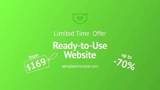 Ready-Made Website Offer by TemplateMonster