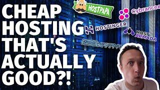 Searching for the BEST CHEAP WEBSITE HOSTING - [Siteground Alternatives]