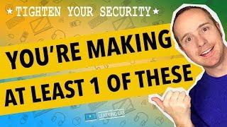 10 Most Common WordPress Security Mistakes